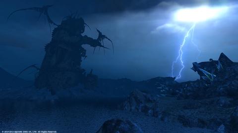 雷鳴〜銀泪湖