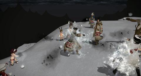 雪合戦?その1