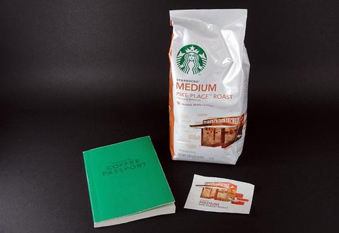 スタバ豆とコーヒーパスポート