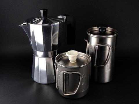 我が家のコーヒー製作3ツール