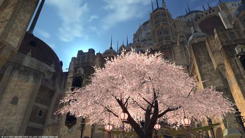 ウルダハの桜〜1